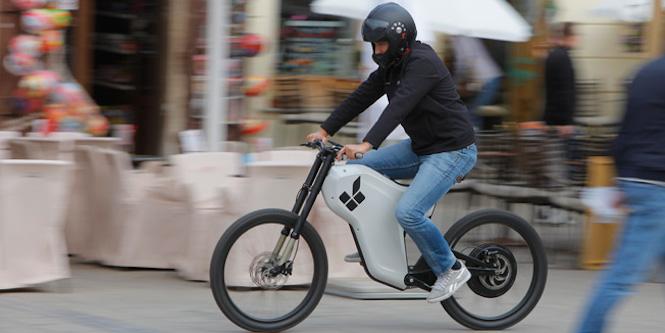 【酷玩儿】不疯魔不成活——Greyp-G12 电动自行车