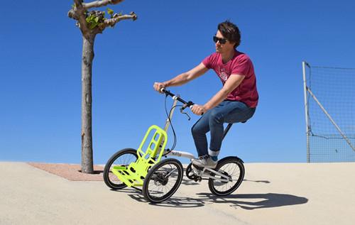 【酷玩儿】倒骑驴的春天来了——可折叠三轮车Kiffy