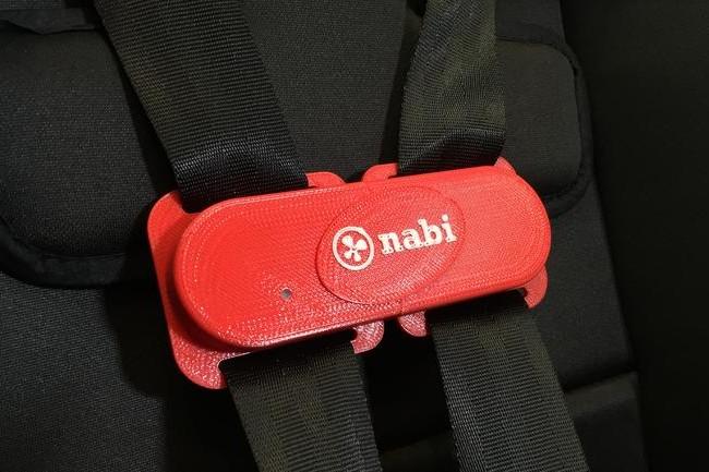 投错胎了?我们来帮你——Nabi Clip儿童汽车座位夹