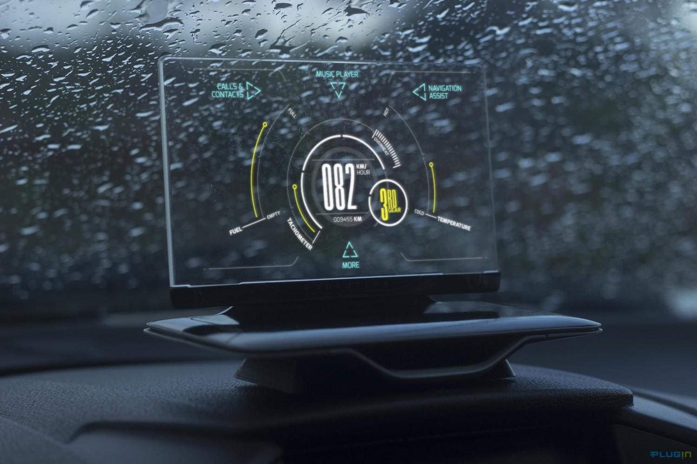 这家叫做Exploride的公司,想给你一个带有透明屏幕的车机