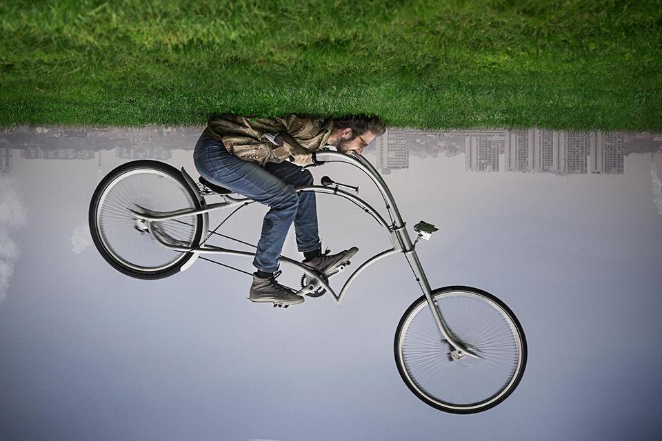 只要心中有,骑什么都是哈雷——Ono Archont 超酷自行车