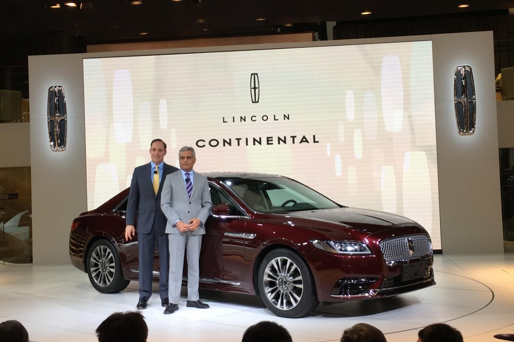 林肯Continental量产版,如何体现科技感?