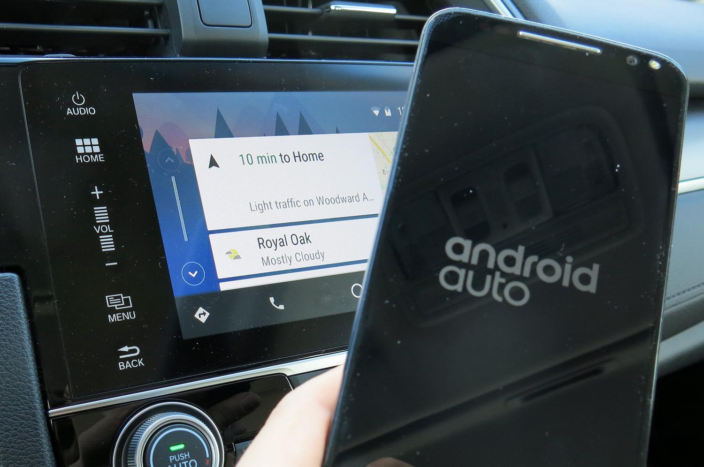 谷歌和思域粉的福利:谁说Android Auto在国内不能用?