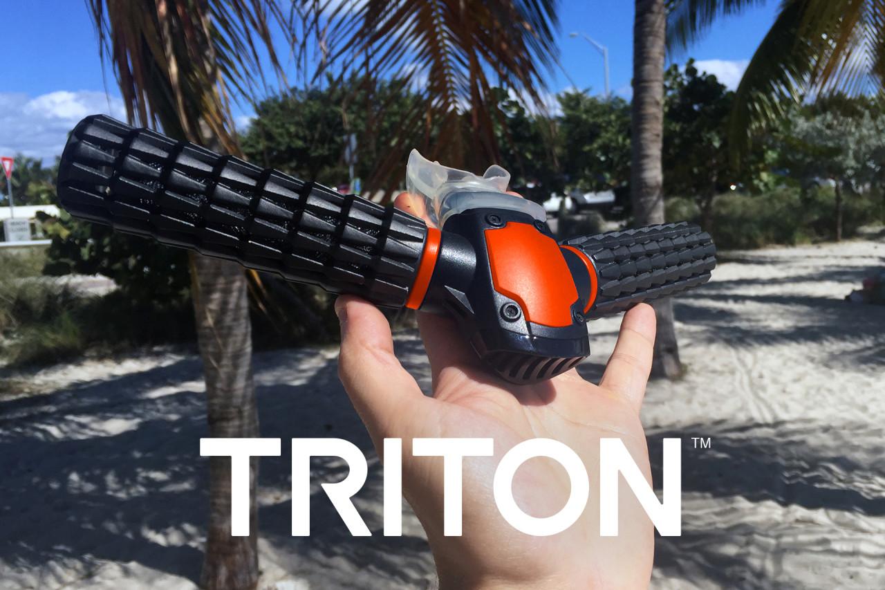 放下三叉戟,我们还做美人鱼——Triton水下呼吸器