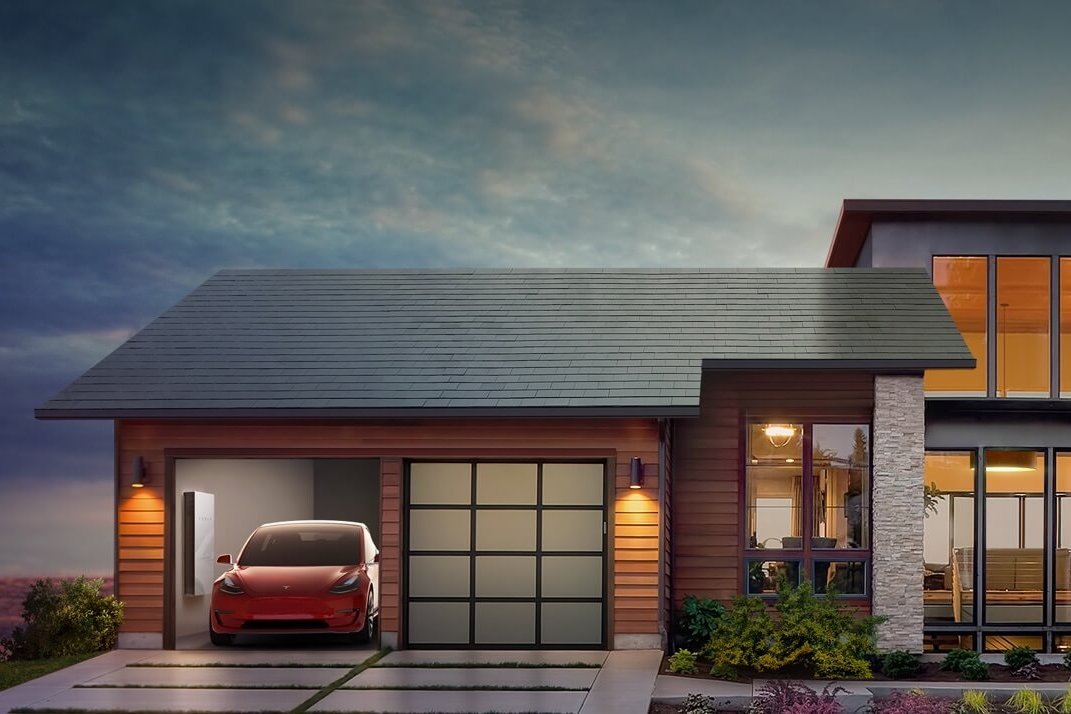 """特斯拉发布太阳能屋顶:马斯克的能源帝国,终于""""封顶""""了"""