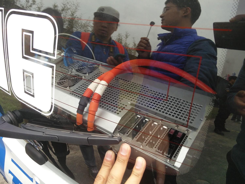 改成电动车型进行测试2021年4月17日无人车 无人车 第4张