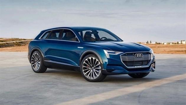 奥迪纯电动 SUV 来袭,技术可能源自保时捷?
