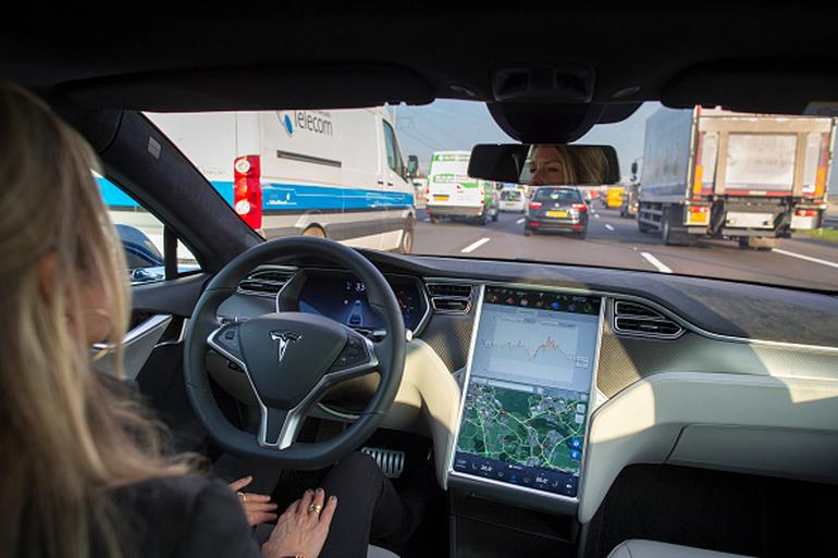 Tesla Motors Inc. Tests Self-Driving Technology