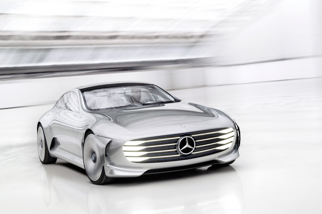 Mercedes-Benz 「Concept IAA」 (Intelligent Aerodynamic Automobile)