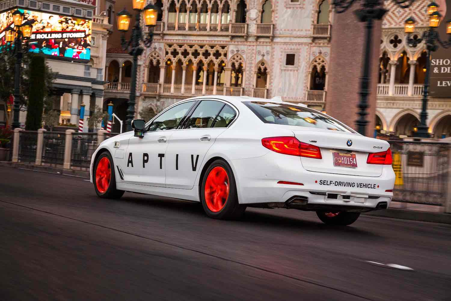 APTIV Vehicle Autonomous Technology - Las Vegas