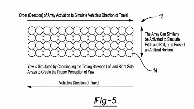 如何解决坐自动驾驶汽车的「晕车」问题?答案是跑马灯…