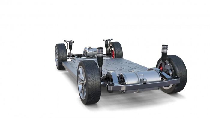 特斯拉Model X电池组