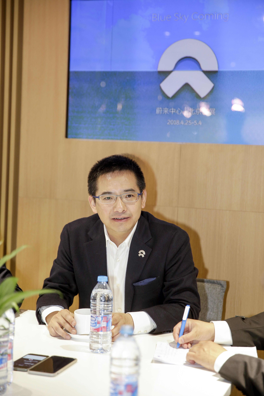 专访秦立洪: 蔚来和江淮「挺好的」,与威马「不在同一个市场竞争」
