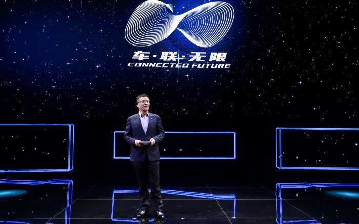 上汽通用汽车总经理王永清发布2025车联网战略