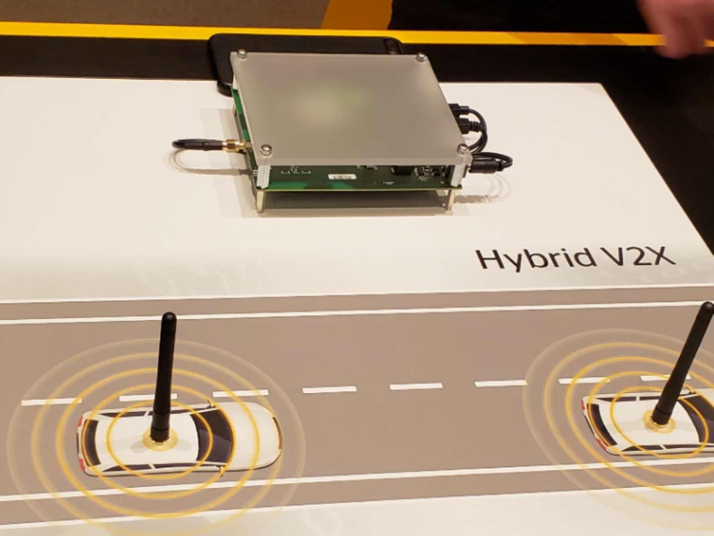 Hybrid V2X