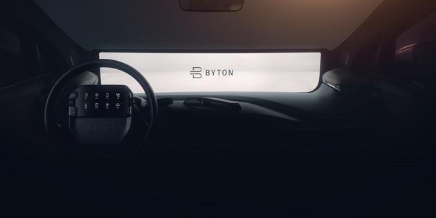 拜腾将于明年1月CES展推首款量产车 配49英寸巨屏