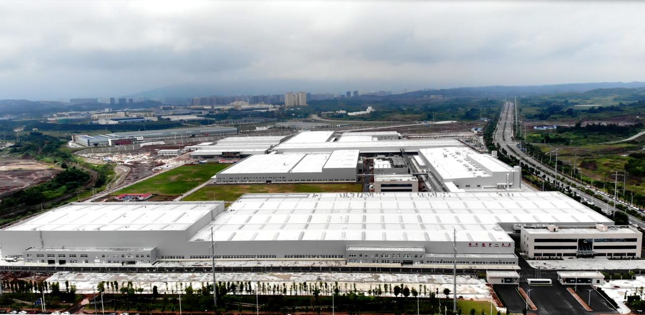 长城汽车重庆永川工厂俯瞰图