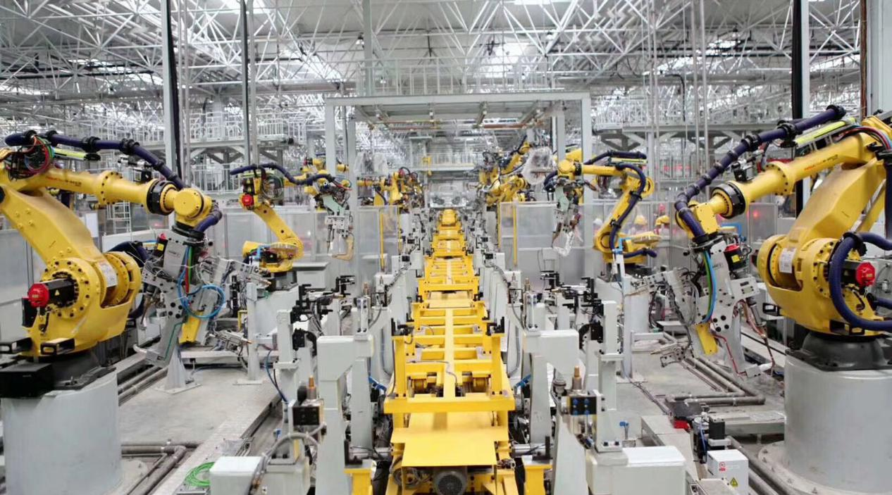 长城汽车重庆永川工厂智能化生产线