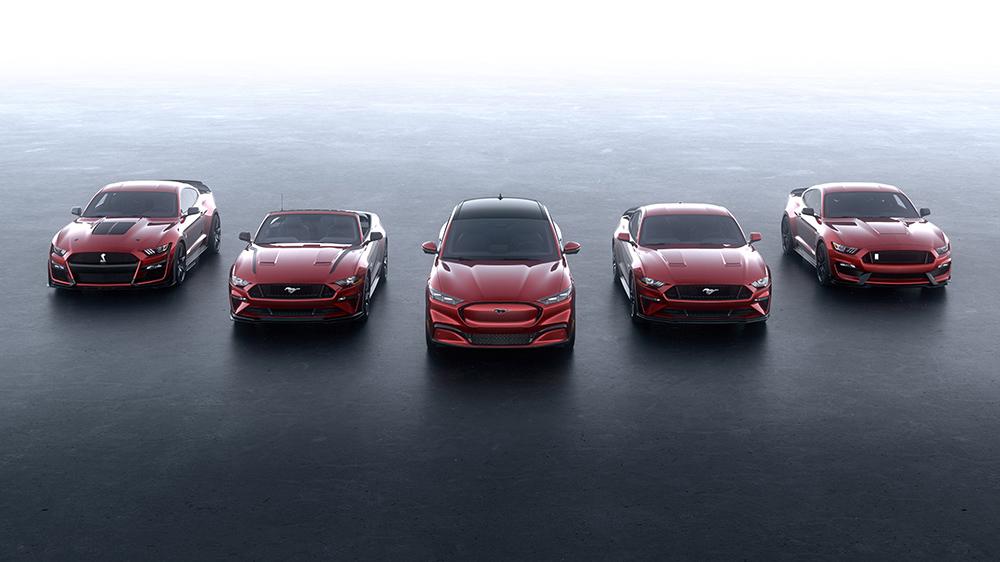 拥有55年传奇历史的福特偶像车型品牌Mustang迎来最新家族成员