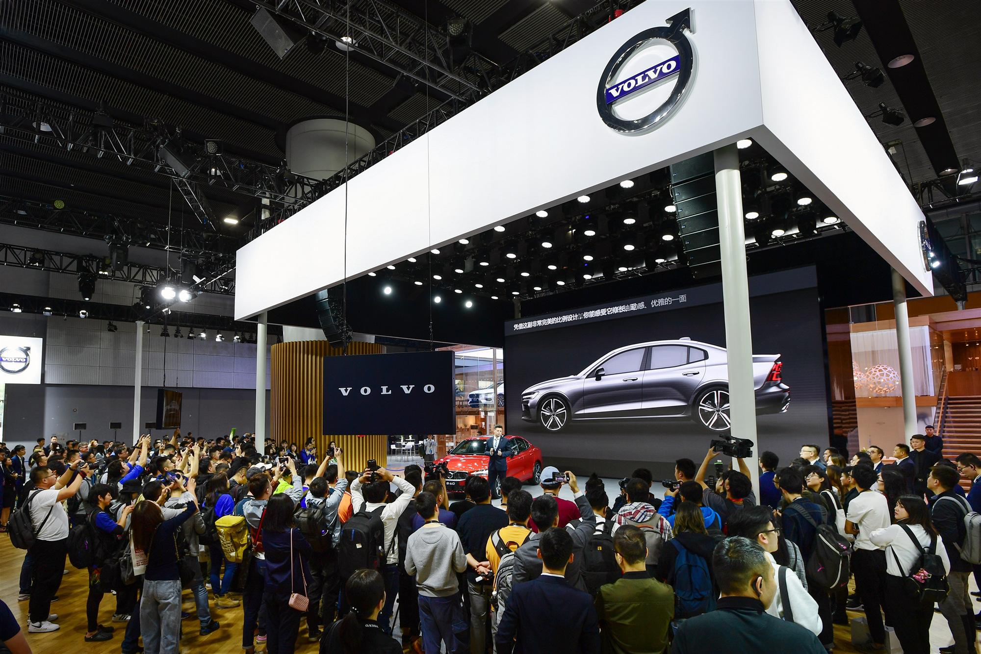 02_2019广州国际车展沃尔沃汽车新闻发布会现场