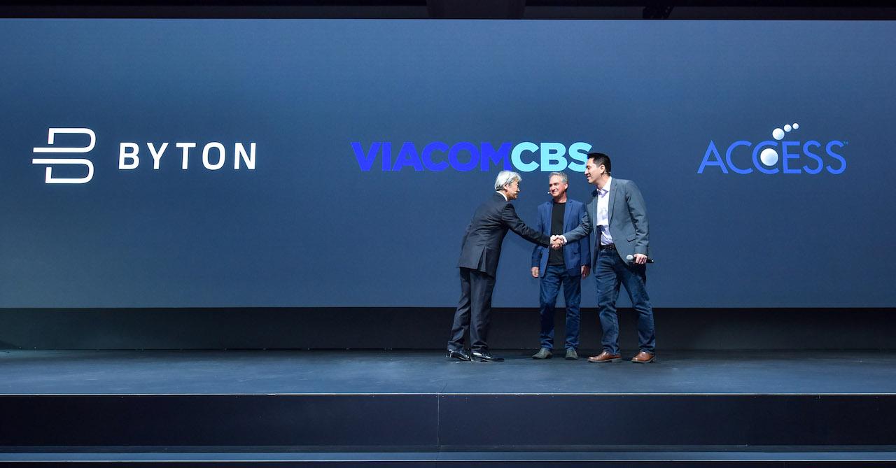 5-拜腾与媒体巨头ViacomCBS和Access达成合作