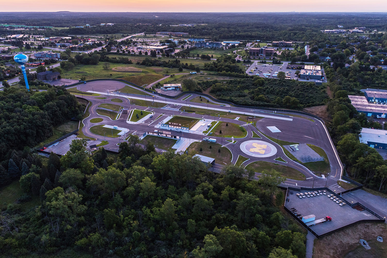 7/15/15 2015 UM Aerials -July MCity, North Campus, Munger Grad Residency,Campus construction.