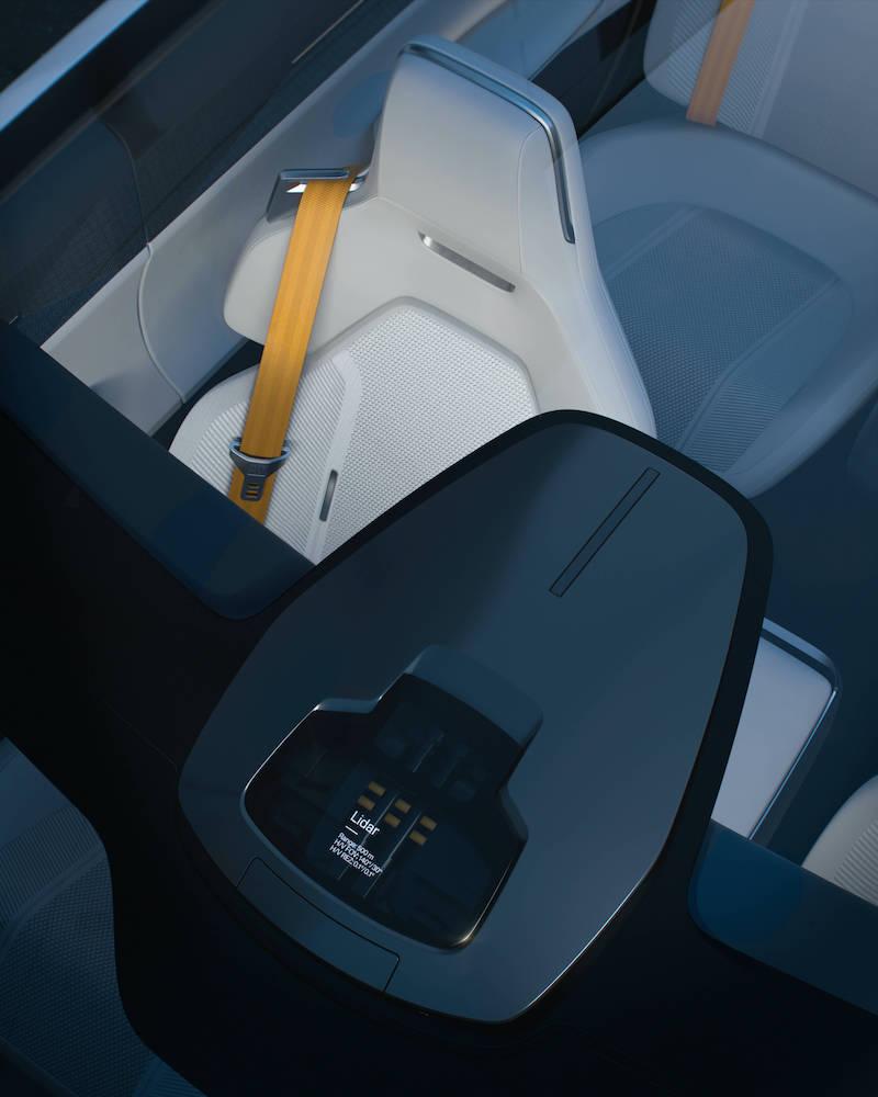 玻璃车顶集成式激光雷达