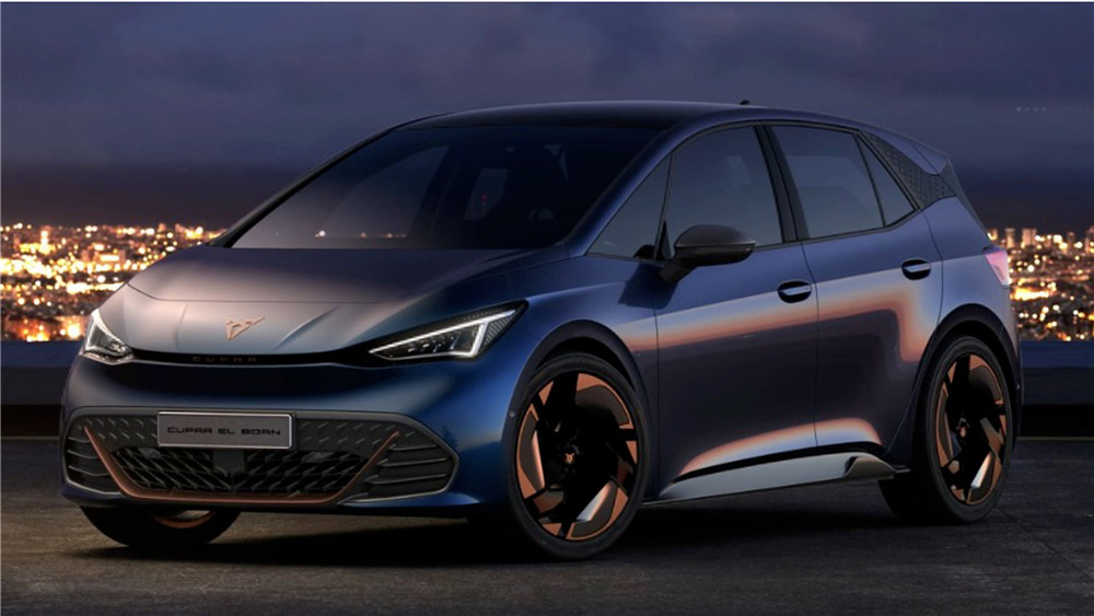 Cupra El Born 2020 official