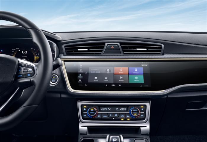 10.25英寸全触控电容屏+GKUI 19吉客智能生态系统