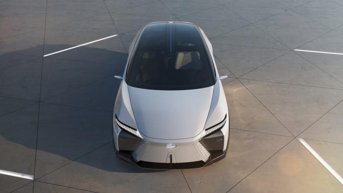 01-电气化概念车LF-Z全球首发 LEXUS雷克萨斯加速迈向电气化未来
