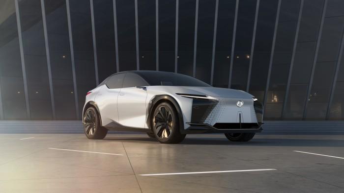 02-电气化概念车LF-Z全球首发 LEXUS雷克萨斯加速迈向电气化未来