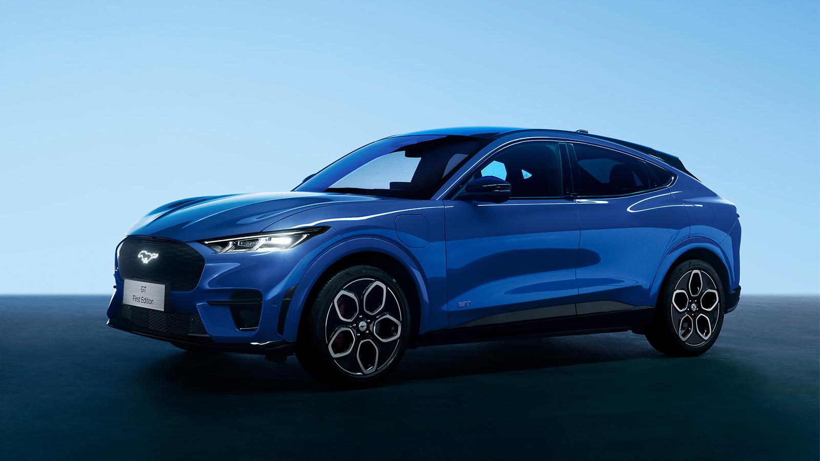 Mustang Mach-E所有智能辅助驾驶硬件前装,打造可进化的智能汽车